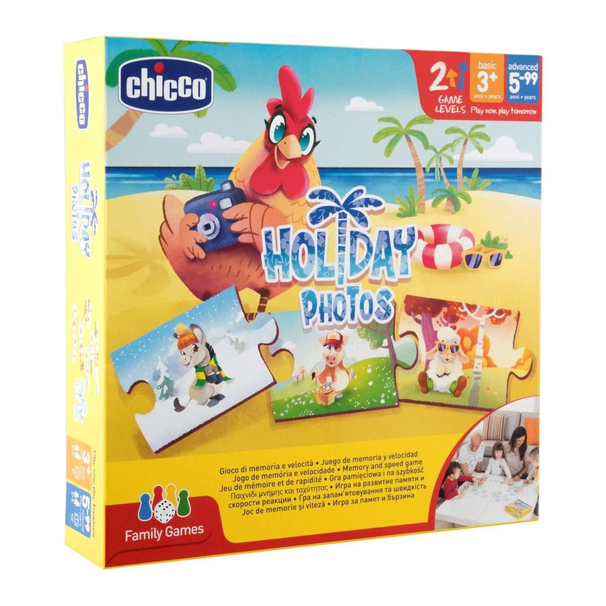 Настольная игра Holiday Photos Игрушки Chicco.ru 05889ba94ed